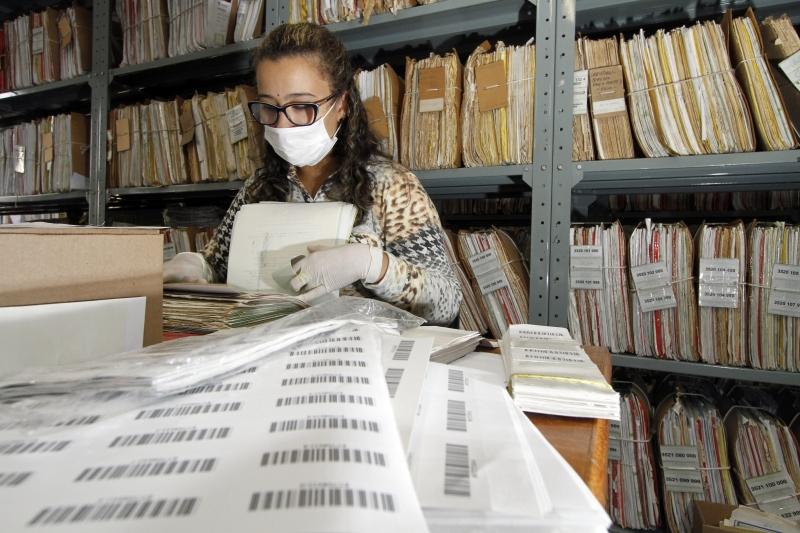 De 30 milhões de documentos, 28 milhões já foram digitalizados
