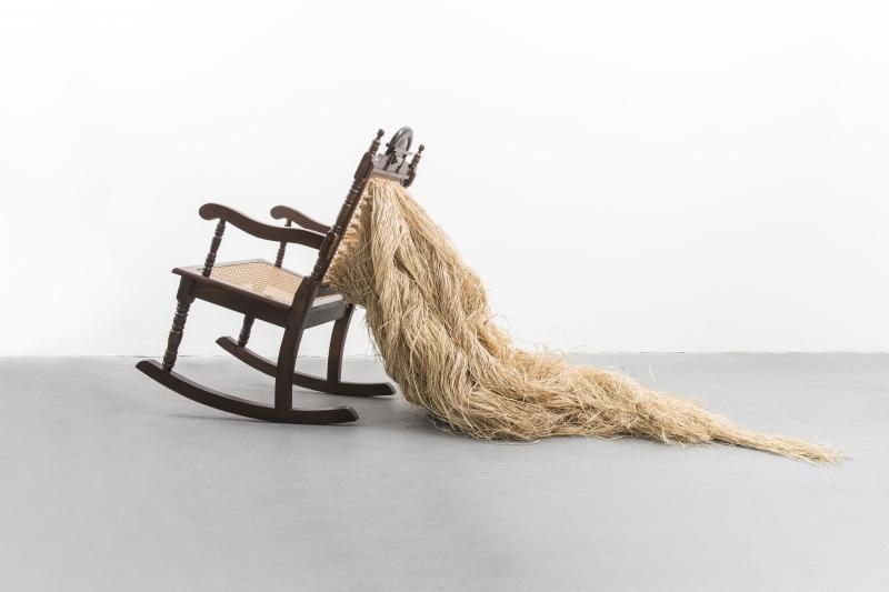 Obra de Mano Penalva, artista baiano que desenvolve trabalho no Pop Center
