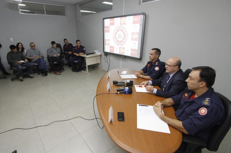Dados da força-tarefa do Corpo de Bombeiros foram apresentados ontem