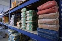 Vendas da indústria de materiais de construção recuam 2,7% em julho