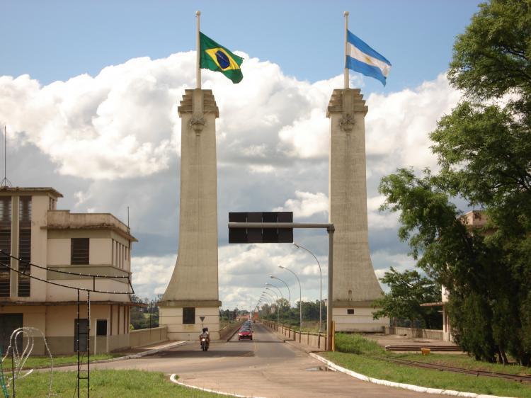 Uruguaiana. Ponte da Amizade