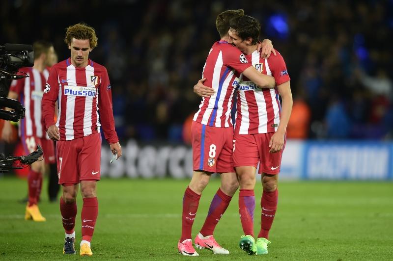 Espanhóis celebram vaga na próxima etapa da Liga dos Campeões da UEFA