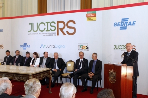 Lançamento da Junta Digital, na Sala Negrinho do Pastoreio, no Palácio Piratini.