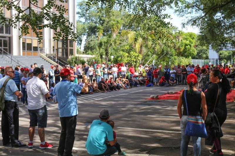 Integrantes do Movimento reivindicam desapropriação de áreas e melhorias nos assentamentos