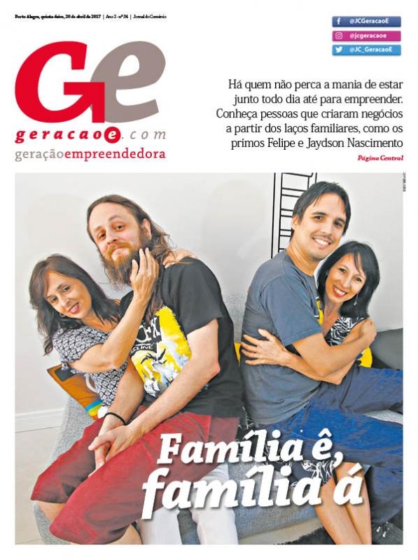 Capa da edição do dia 20 de abril de 2017