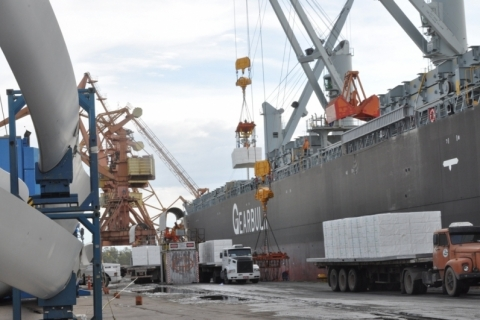 Exportações gaúchas caem 11,8% frente a outubro de 2019