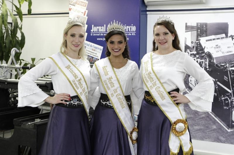 Soberanas do evento destacam o desfile de carretas como atração