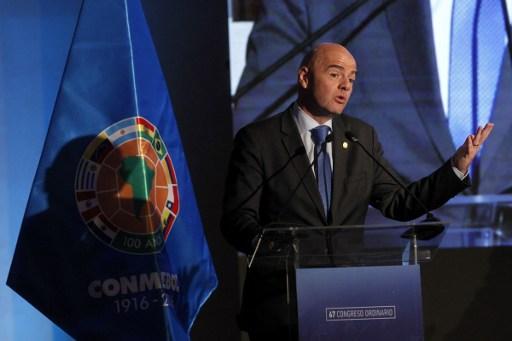 O dirigente anunciou a novidade durante o congresso da Conmebol, em Santiago, no Chile
