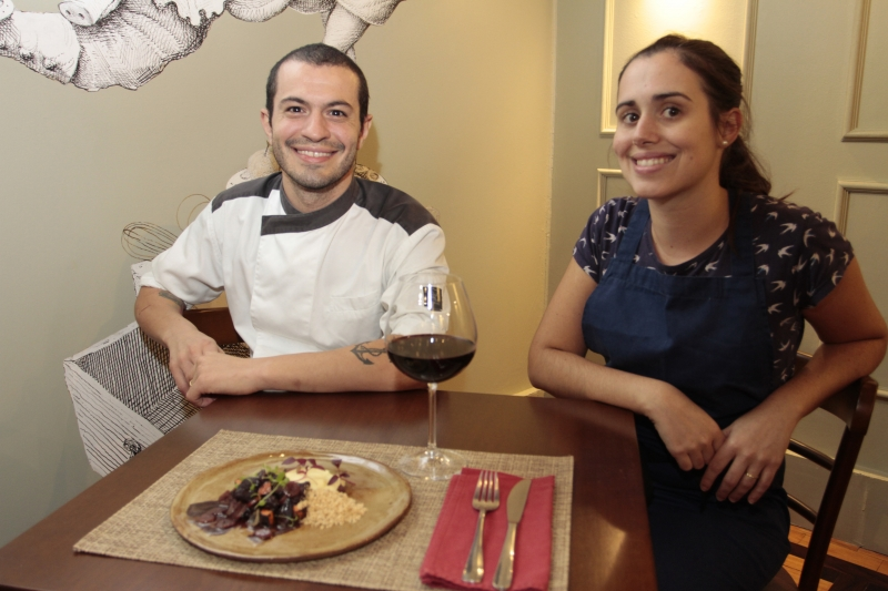 Chefs Magni e Liliana defendem gastronomia em que sabor, saúde e sustentabilidade convergem