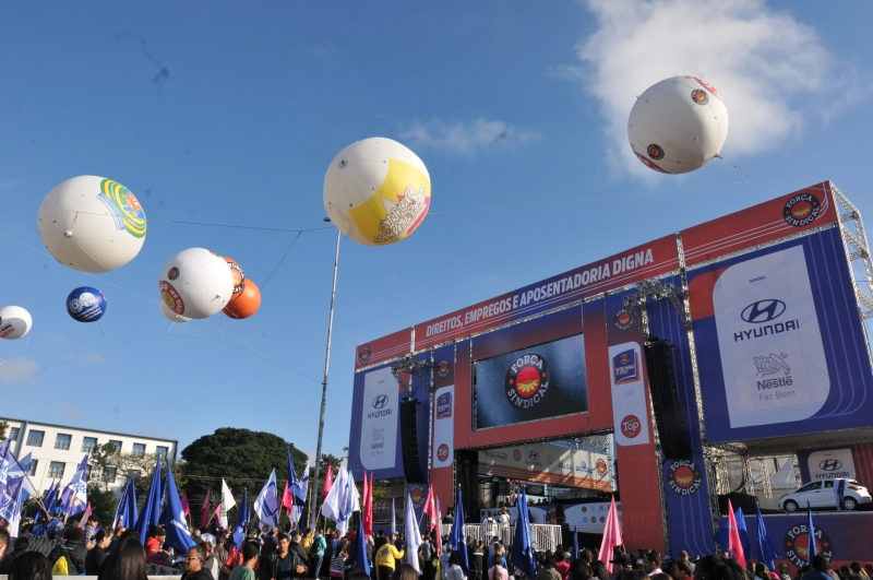 Sindicato promove festa neste dia 1º de Maio na Praça Campo de Bagatelle, em São Paulo