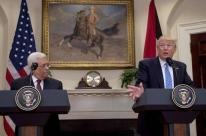 Trump quer mediar diálogo entre israelenses e palestinos