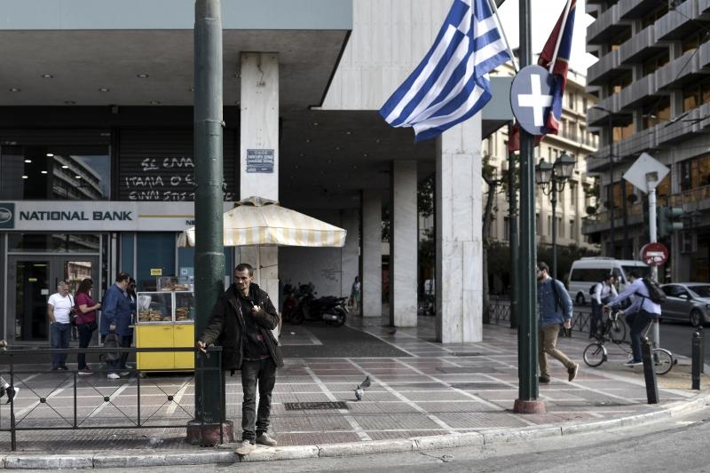 Os bancos gregos