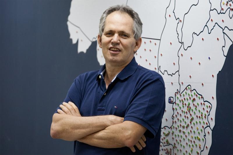 Edison Tamasci, é presidente da FEBRAFAR, da rede de Drogarias Ultrapopular e da administradora de redes Farmarcas - Marcelo Dantas - Divulgação - JC