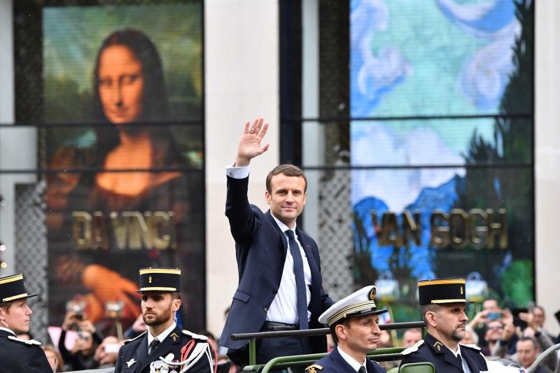Na posse, Macron disse que manterá programa de governo da campanha