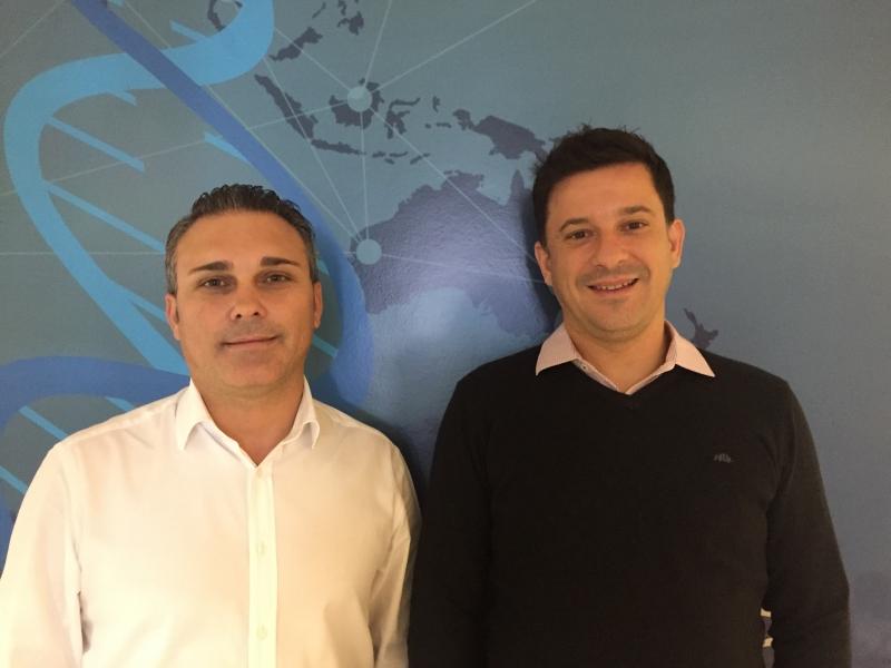 Denilson Ianaconi e Alex Marin