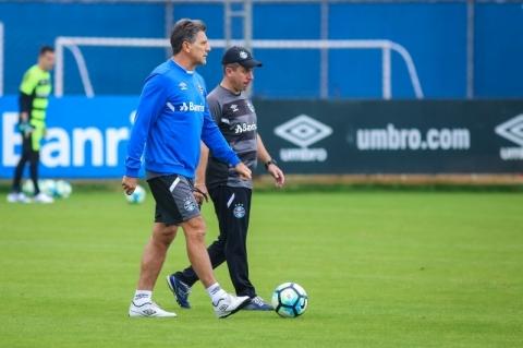Para a partida contra o Atlético Paranaense, Renato disse que já tem o time escolhido, mas não divulgou a escalação
