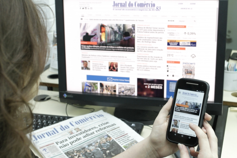Jornal do Comércio 84 anos, multiplataformas