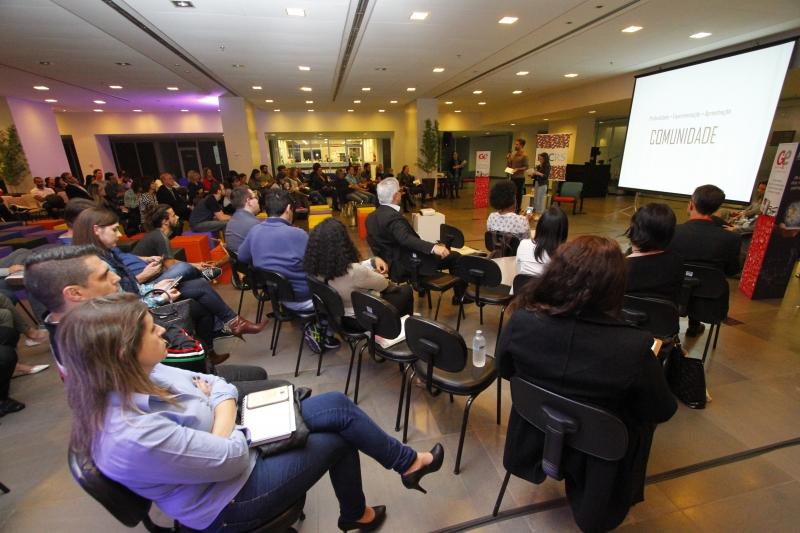 Evento de lançamento da Pesquisa Empreendedores, do GeraçãoE