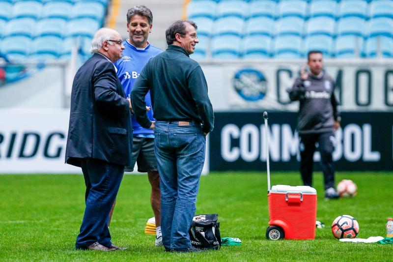 Grêmio vai completo para duelo contra o Zamora