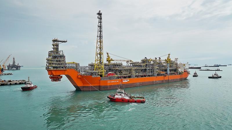 O Pioneiro de Libra tem capacidade de processar, diariamente, até 50 mil barris de petróleo