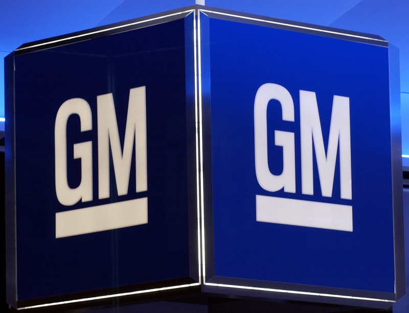 GM, General Motors, setor automotivo (FILES) This file photo taken on January 11, 2005 shows the corporate logo for the General Motors Corporation during the North American International Auto Show in Detroit, Michigan.  Two US owners of General Motors diesel pickup models sued the giant automaker on May 25, 2017, claiming it had used emissions-cheating devices similar to those in Volkswagen's global