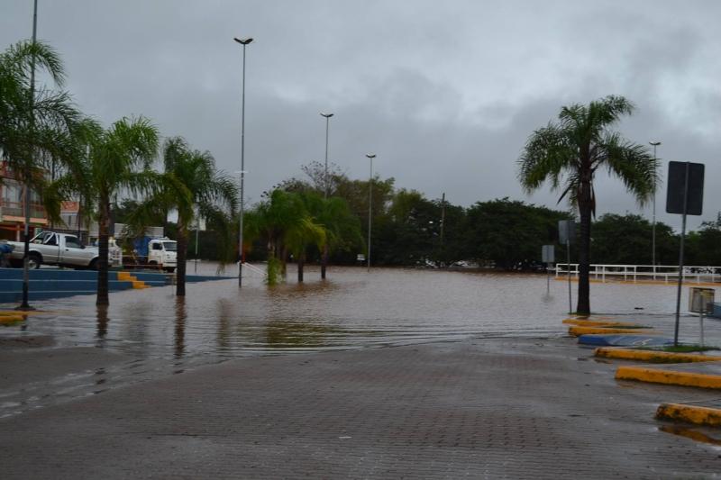 Cheia do Rio Uruguai invade o Cais do Porto, ponto turístico de São Borja Crédito Darlan Santos Prefeitura de São Borja (6)