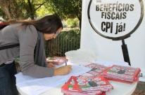 Campanha busca apoio à CPI das Isenções Fiscais
