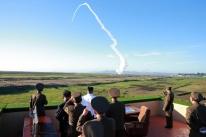 Japão diz que pode derrubar mísseis da Coreia do Norte
