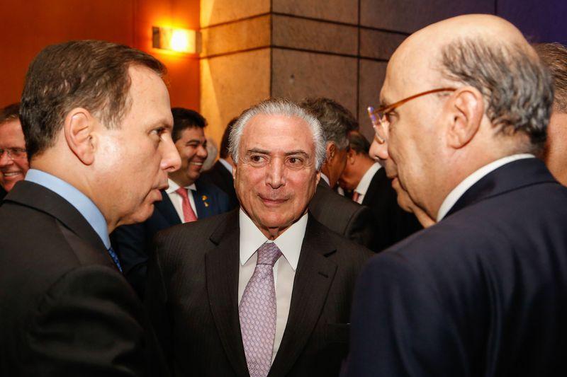 São Paulo - Presidente Michel participa de jantar por ocasião do Fórum de Investimentos Brasil 2017 (Marcos Corrêa/PR)