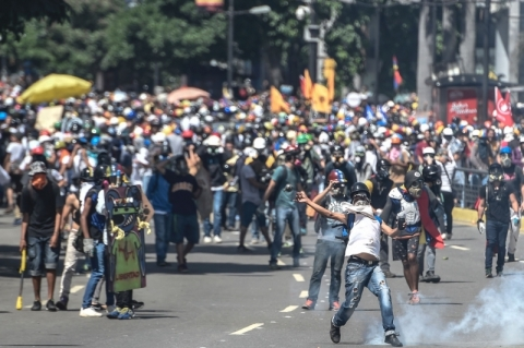 pg3 protestos na Venezuela