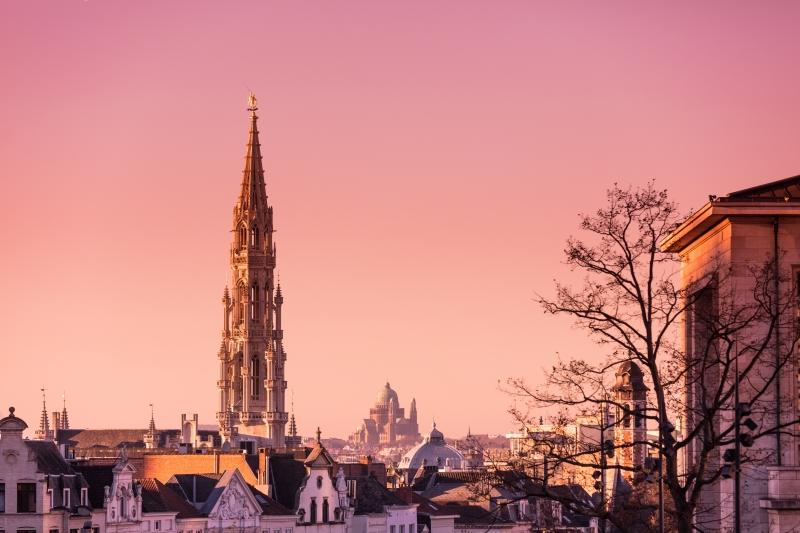 Com várias opções de passeio, a capital, Bruxelas, encanta pela bela arquitetura
