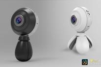 Câmera de alta performance produz vídeos em 720°