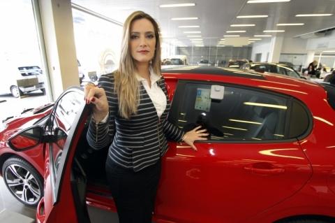 Uma gestora no ramo automobilístico