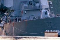 Autoridades japonesas continuam buscas por marinheiros americanos desaparecidos