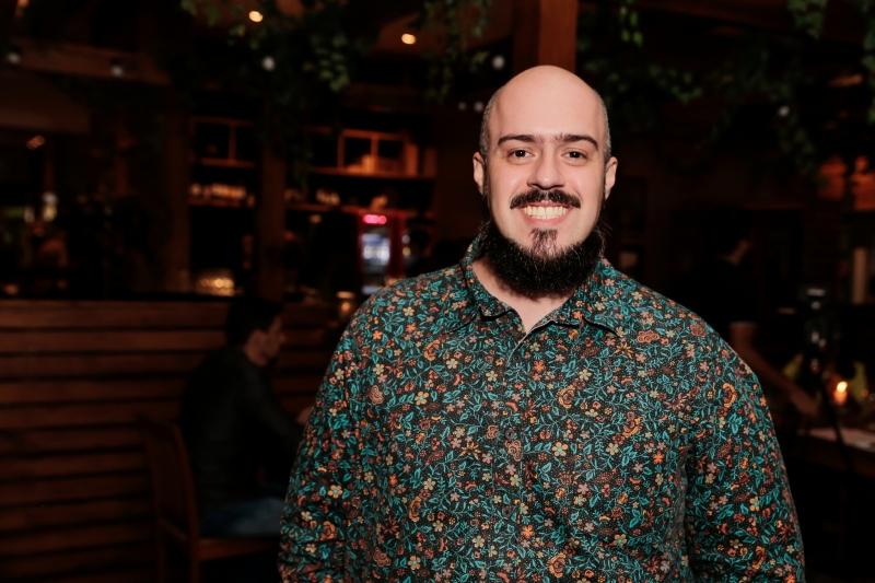 Fernando Neves, do blog Gourmetice, que completou três anos