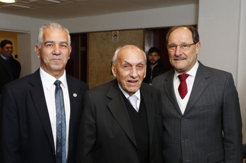 Nelson Kalil Moussalle, Luis Roberto Ponte e o governador José Ivo Sartori