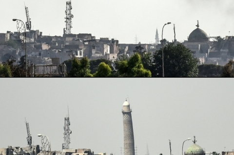 Iraque acusa o EI de destruir mesquita histórica