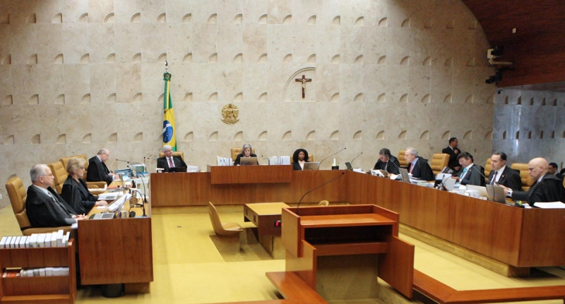 Sessão plenária do STF. Foto: Carlos Moura/SCO/STF (22/06/2017)