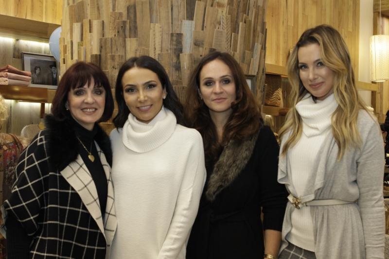 Maria Anselmi, Lalá Noleto, Sandra Anselmi e Claudia Bartelle