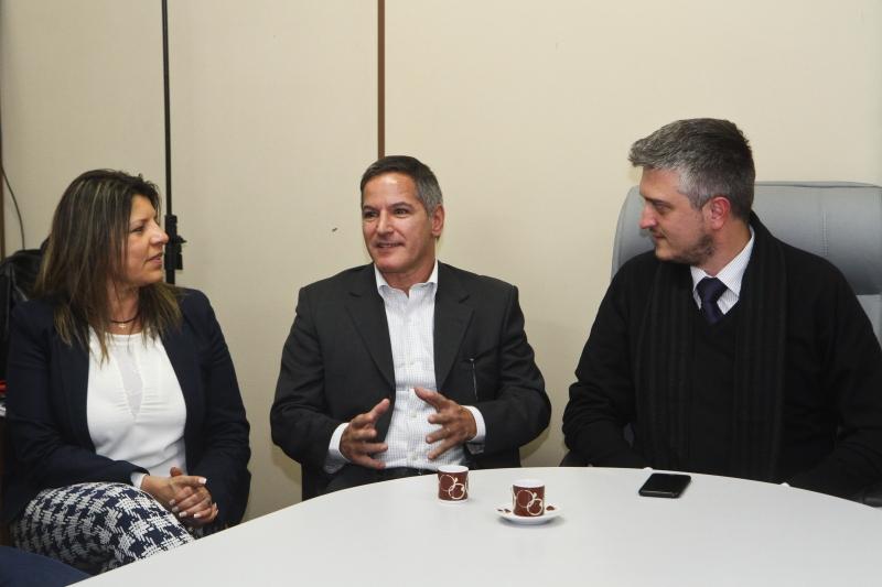 Posse do novo diretor-geral do DMLU, Adenir Matos Foto: Helena Rocha/PMPA