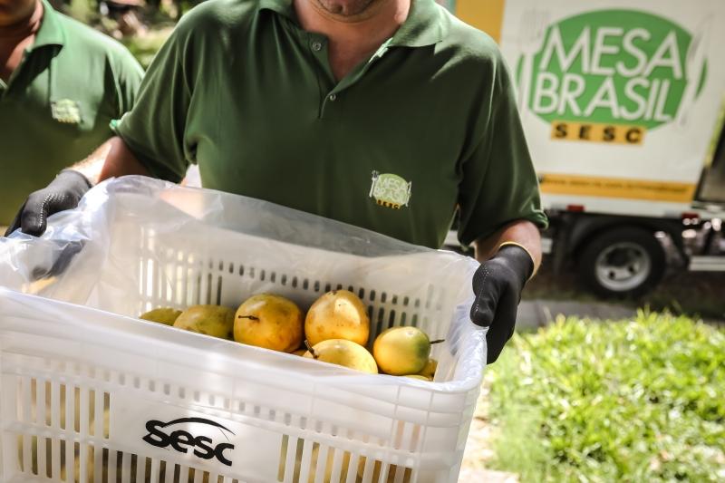 Programa Mesa Brasil estimula a doação de alimentos e o combate ao desperdício