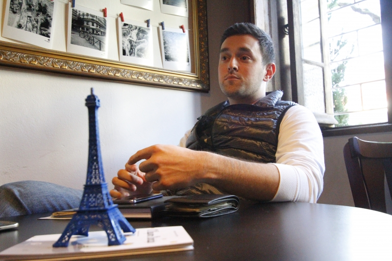 André Motta abriu o negócio inspirado em suas viagens à Europa