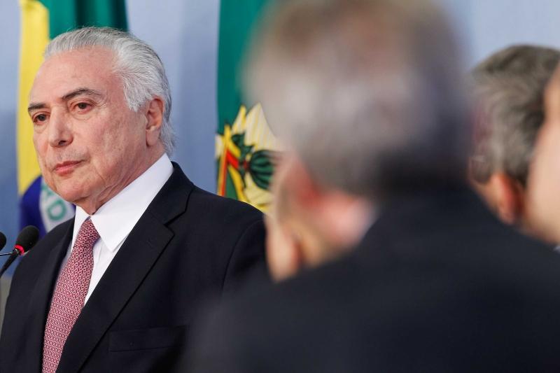 (Brasília - DF, 27/06/2017) Presidente Michel Temer durante declaração à Imprensa. Foto: Beto Barata/PR
