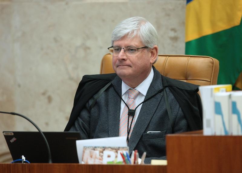 Procurador-geral da República Rodrigo Janot durante sessão plenária do STF. Foto: Carlos Moura/SCO/STF (29/06/2017)