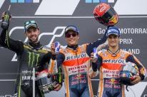 Márquez vence na Alemanha, assume a liderança e esquenta briga na MotoGP