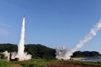 EUA e Coreia do Sul fazem teste com mísseis