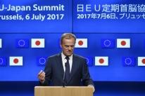 Presidente do Conselho Europeu denuncia hipocrisia do G-20 em crise migratória