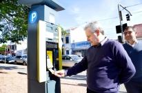 Gravataí é a primeira cidade no país a implantar parquímetros que aceitam pagamentos com cartões