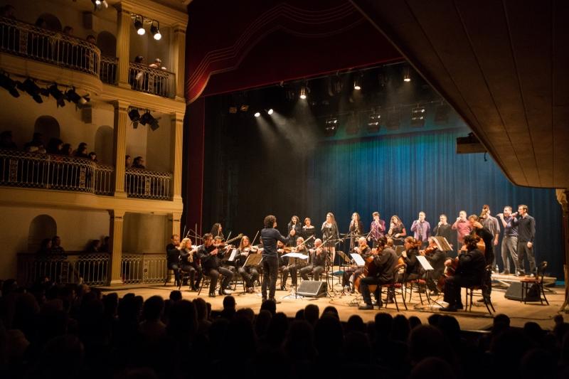 Orquestra Ulbra apresenta repertório do Maluco Beleza no Theatro São Pedro