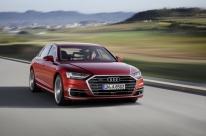 Novo A8 assume vanguarda tecnológica da Audi